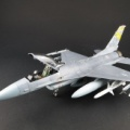 1/72 F-16CJ ファイティングファルコン 製作 2