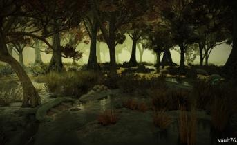 高原の沼地(Highland marsh)