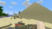 大ピラミッドの外観を最終調整する