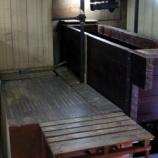 『搾り槽の床板を改修しました』の画像