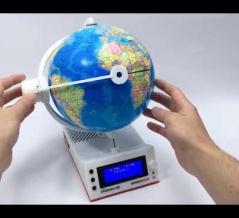【動画】世界中のラジオを聞く事が出来る地球儀型ラジオ