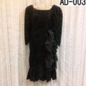 大人ドレス 黒の総レース(13号サイズ)SOLDOUT
