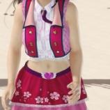 『桜色ハーモニー を着た こころがオーナーをぐりぐり DOAXVV』の画像