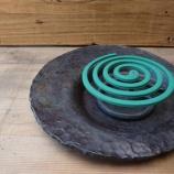 『蚊取線香丸皿』の画像