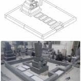 『アーバングレー 和型墓石』の画像