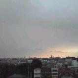 『今夜雷雨だそうで あ!光った』の画像