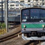 『【過去画】205系埼京線の大船通過』の画像