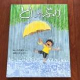 『絵本から確かに雨音が聞こえ、ヘタしたら胸が熱くなって、目から雨が降るよ!│【絵本】110『どしゃぶり』』の画像