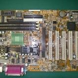 『PC・マザーボード  MS-6199(VER.2)コンデンサ交換手術41箇所』の画像