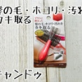 「キャンドゥ」ブラシに絡まった髪の毛やホコリをカキ取る便利なクリーナー