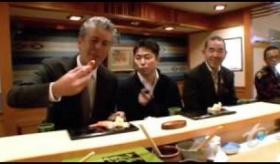 【旅番組】  日本の最高級寿司を食べに、東京の すきやばし次郎 に行って来た。  海外の反応
