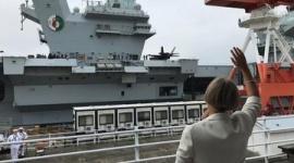 【軍事】英海軍の空母「クイーン・エリザベス」、釜山寄らず横須賀に入港