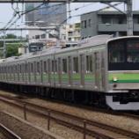 『【過去画】205系横浜線のOM出場』の画像