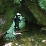 深山幽谷にイワナの宝庫を求めての写真