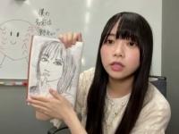 【速報】山口陽世、新作!小坂菜緒似顔絵を初公開wwwwwwwwww