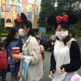 AKB48峯岸みなみと指原莉乃がディズニーランドで目撃される