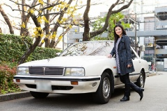 伊藤かずえの初代シーマ 25年間、同じクルマに乗り続けて走行距離25万㎞超!