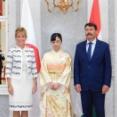 佳子さま ハンガリー大統領を表敬訪問