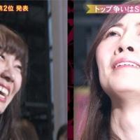 【炎上】AKB48総選挙、松井珠理奈が1位になるも鼻クソが映る事故で叩かれる