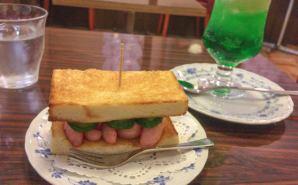 漫画に出てきたサンドイッチを再現