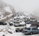 【雪】サウジアラビアに雪が降った