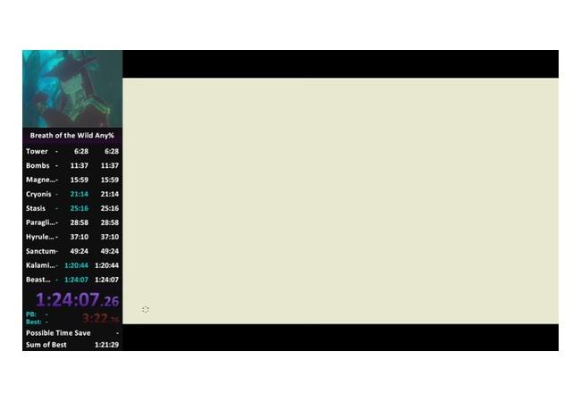 【ゼルダの伝説 ブレスオブザワイルド】95分クリアは不可能→84分に更新wwwww