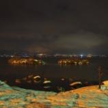 『【2014冬の聖地巡礼】夜の諏訪を散策』の画像