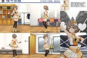 【ミリシタ】SR「BRIGHT DIAMOND 桜守歌織」(通常+α) 衣装紹介