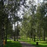 『フィンランド ヘルシンキ旅行記15 最後の観光、シベリウス公園、かもめ食堂、現代美術館キアズマに行ってヘスバーガーを食べる』の画像