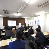 『大阪府工業協会主催 ロジスティクス施設 実地見学会にて弊社倉庫にお越しいただきました。』の画像