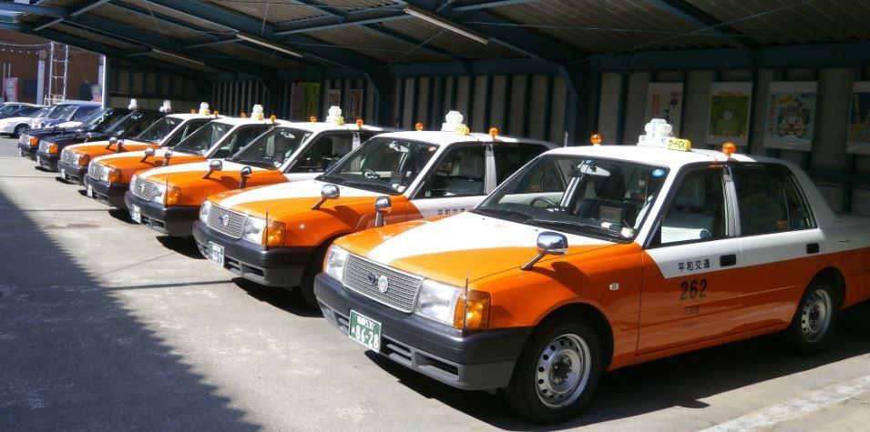 平和交通(GPSタクシー配車)竹下・東那珂あたり営業してます イメージ画像