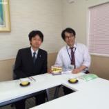 『開誠館高校の永井先生と』の画像