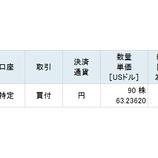 『【BMY】不人気優良株のブリストル・マイヤーズ・スクイブを66万円分買い増しました』の画像