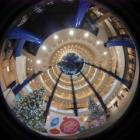『円周魚眼レンズによる横浜・センター南 2019/12/21』の画像