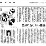 『乾燥に負けない肺整えて|産経新聞連載「薬膳のススメ」(51)』の画像