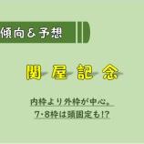 『【予想/買い目】関屋記念_2020。』の画像