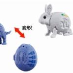 卵型のガチャカプセルがそのまま動物に変形!「ガシャポン タマゴラス」第5弾が登場!
