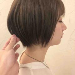 癖毛をおさめるショートカット☆