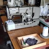 『【岐阜市のお客様にJUKI製LBH-772 眠り穴かがりミシンの中古をお買い上げいただきました】手の込んだアイテムをやられている方なので、ミシンの活躍が楽しみです!』の画像