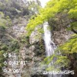 『箕面の滝道トレイルラン』の画像