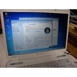 『DynaBook AX/740LS Windows7化作業』の画像