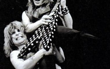 『職人芸を貫くオジーオズボーンにとってストイックなランディ・ローズはぴったりだった。』の画像