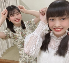 小林萌花と山﨑愛生のパンダさんポーズがキタ――(゚∀゚)――!!