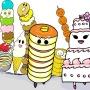 オリジナル絵本「サンドイッチくんとハンバーガーくん」★2012年度版★