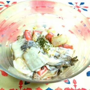 焼き白菜のヨーグルト和え