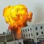 【動画】中国、またしても工場が爆発、炎上!大きな火球が膨れ上がる! [海外]