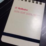『デルフォニックスから「ロルバーン」の縦型メモが出た!』の画像