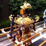 『戸田市鍛冶谷町会子ども会 子ども神輿の町内練り歩き』の画像