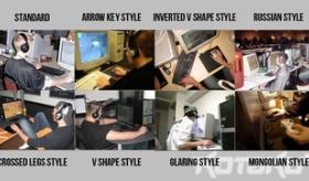 【ゲーム】   日本人が FPSゲームを 操作する時のスタイルを 8つに分類したぞ!!   海外の反応