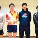 『◇仙台卓球センタークラブ◇ 平成29年度仙台市春季卓球リーグ戦 結果』の画像